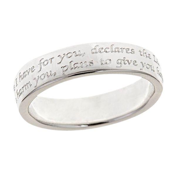 Engagement Ring Engraving Bible Verse