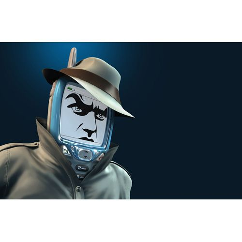 mobile spy  $10,00 royalty free