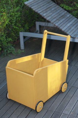 comment fabriquer un chariot en bois plus tard plus. Black Bedroom Furniture Sets. Home Design Ideas