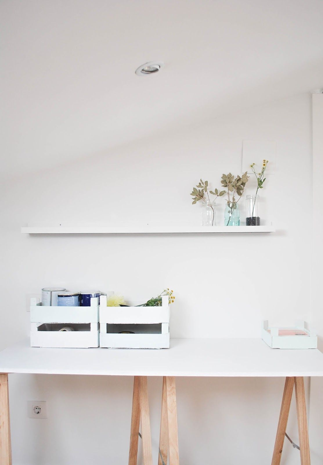 MY HOME: Mi taller nórdico paso a paso I http://www.mylittlebrunch.com/2014/05/my-home-mi-taller-nordico-paso-paso-i.html #workplace #scandinavianstyle #myhome #lugardetrabajo