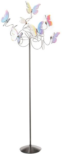 Harco Loor Butterfly Floor Lamps Handmade Lighting Has A Stainless Steel  Frame. Arms Can Be