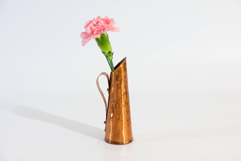 Vintage copper bud vase copper flower vase copper pitcher vintage copper bud vase copper flower vase copper pitcher small copper vase reviewsmspy