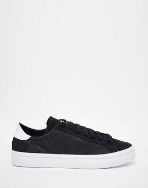 78797eee52f161 adidas Originals – Court Vantage – Sneakers Damen Absatzschuhe
