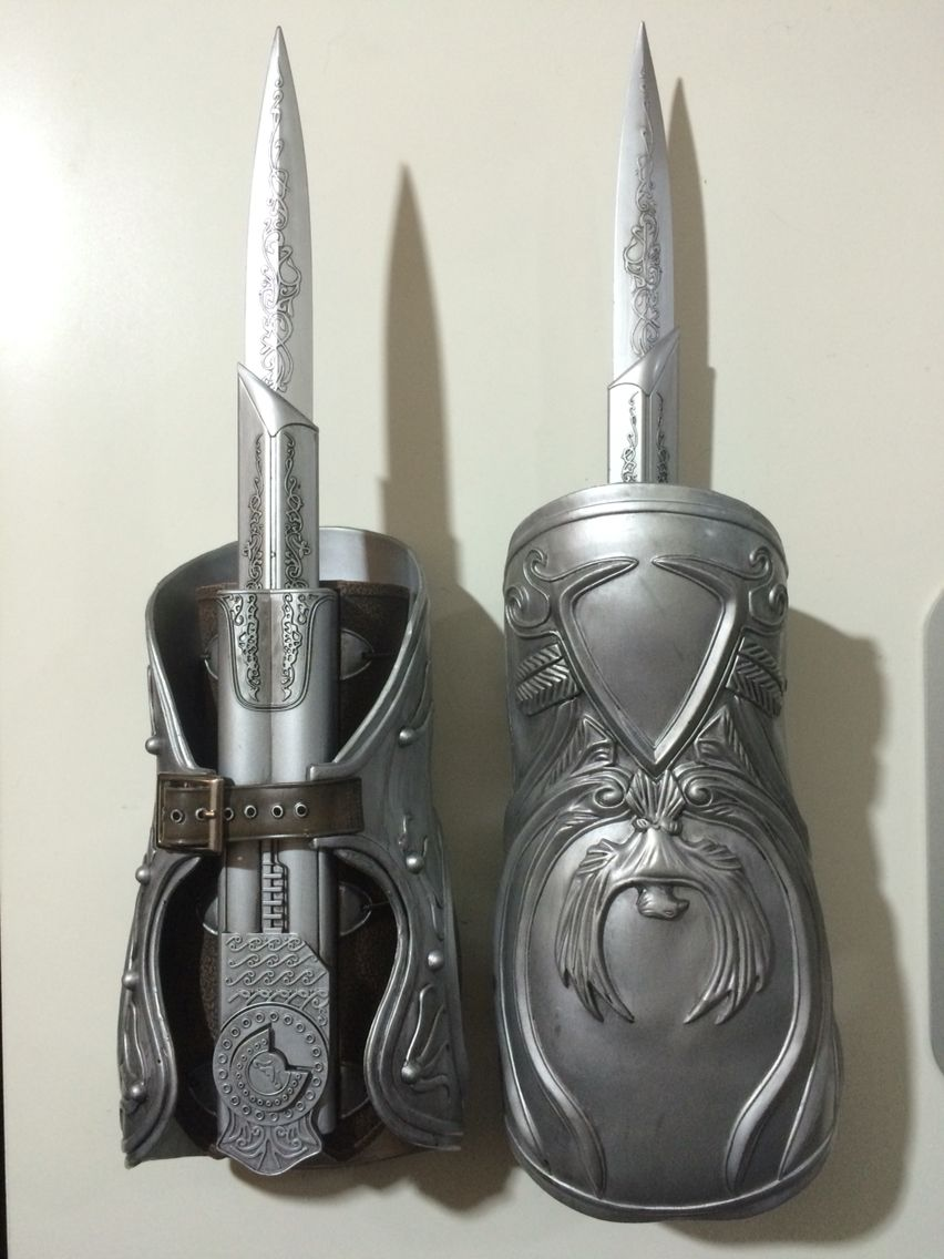Ezio Auditore Hidden Blades Replica Blade Tattoo Hidden Blade