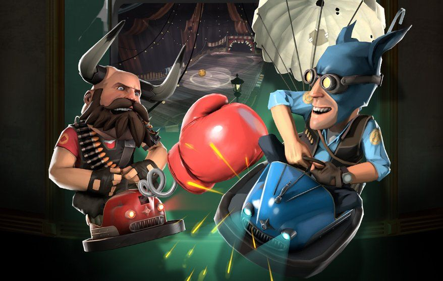 Team Fortress 2's Halloween event adds evil carnival - PC Gamer ...