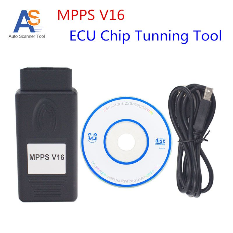 New Professional Auto ECU Chip Tuning MPPS V16 for EDC15