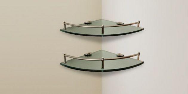 estantes de vidrio para baos Buscar con Google Estantes de