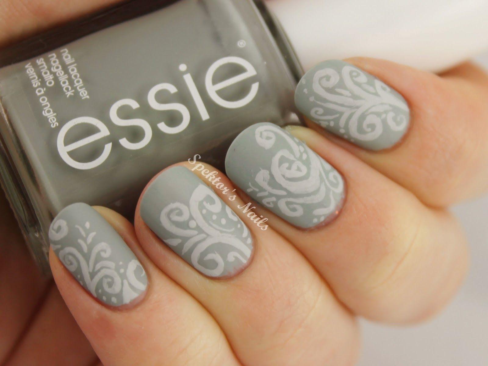Spektor\'s Nails: Essie - Maximillian Strasse Her / Matte / Nail Art ...