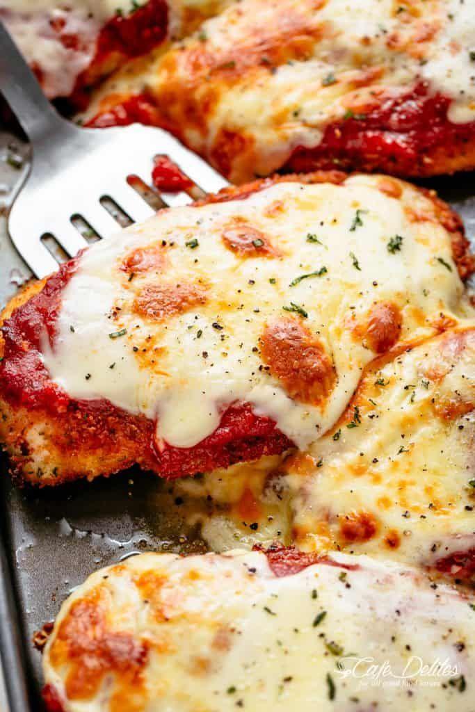 Crispy Chicken Parmesan Recipe Chicken Parm In 2019 Chicken Parmesan Recipes Crispy