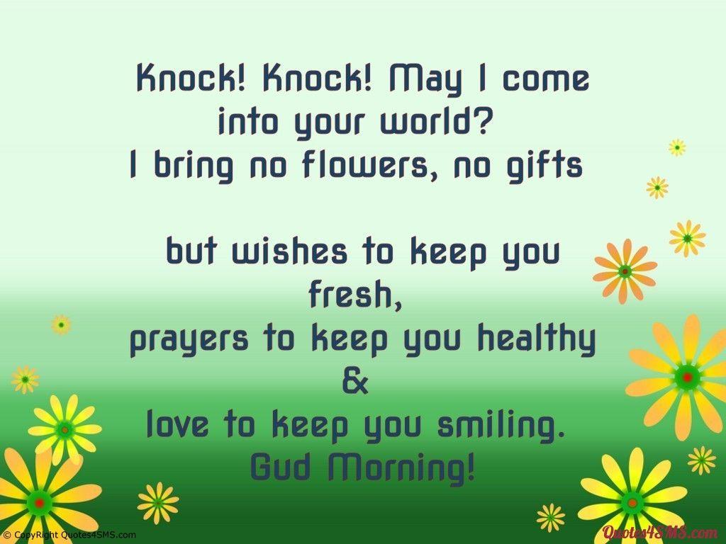 Knock Knock Jokes Tagalog Tumblr Good Morning Messages Good Morning Quotes Good Night Quotes