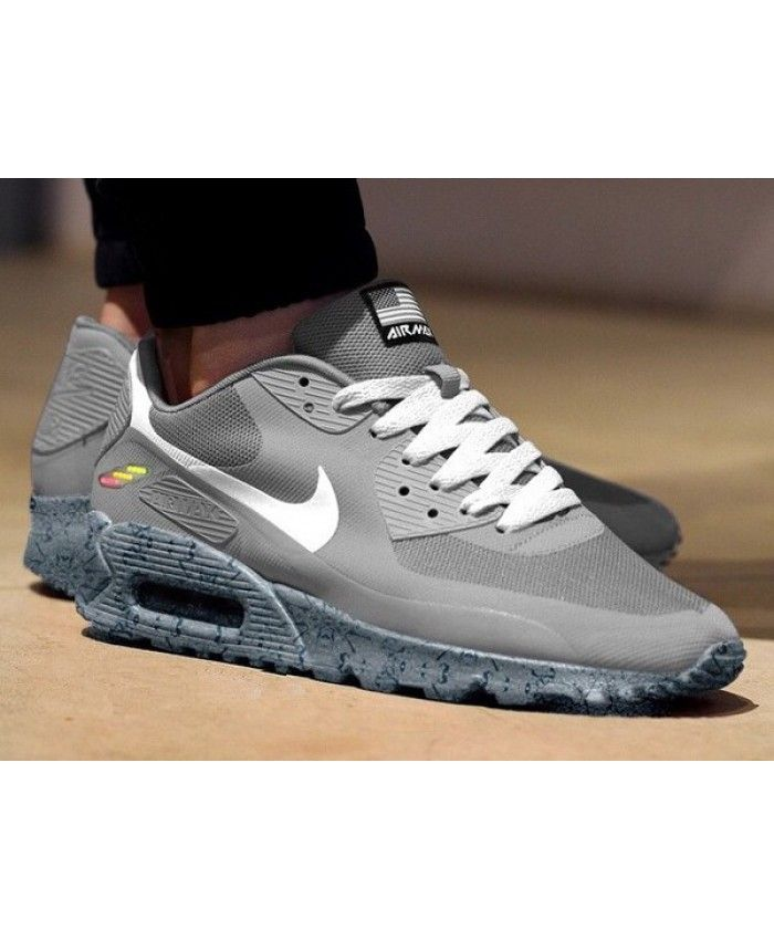 best service 641f1 2abd8 Nike Air Max 90 Hyperfuse Independence Day Custom Grey Trainer Now many  young people like this product, very tempting, work is also very  sophisticated.
