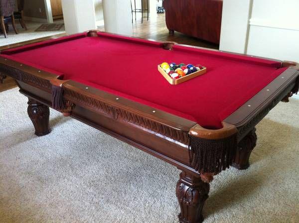 Artisan Design Custom Pool Table