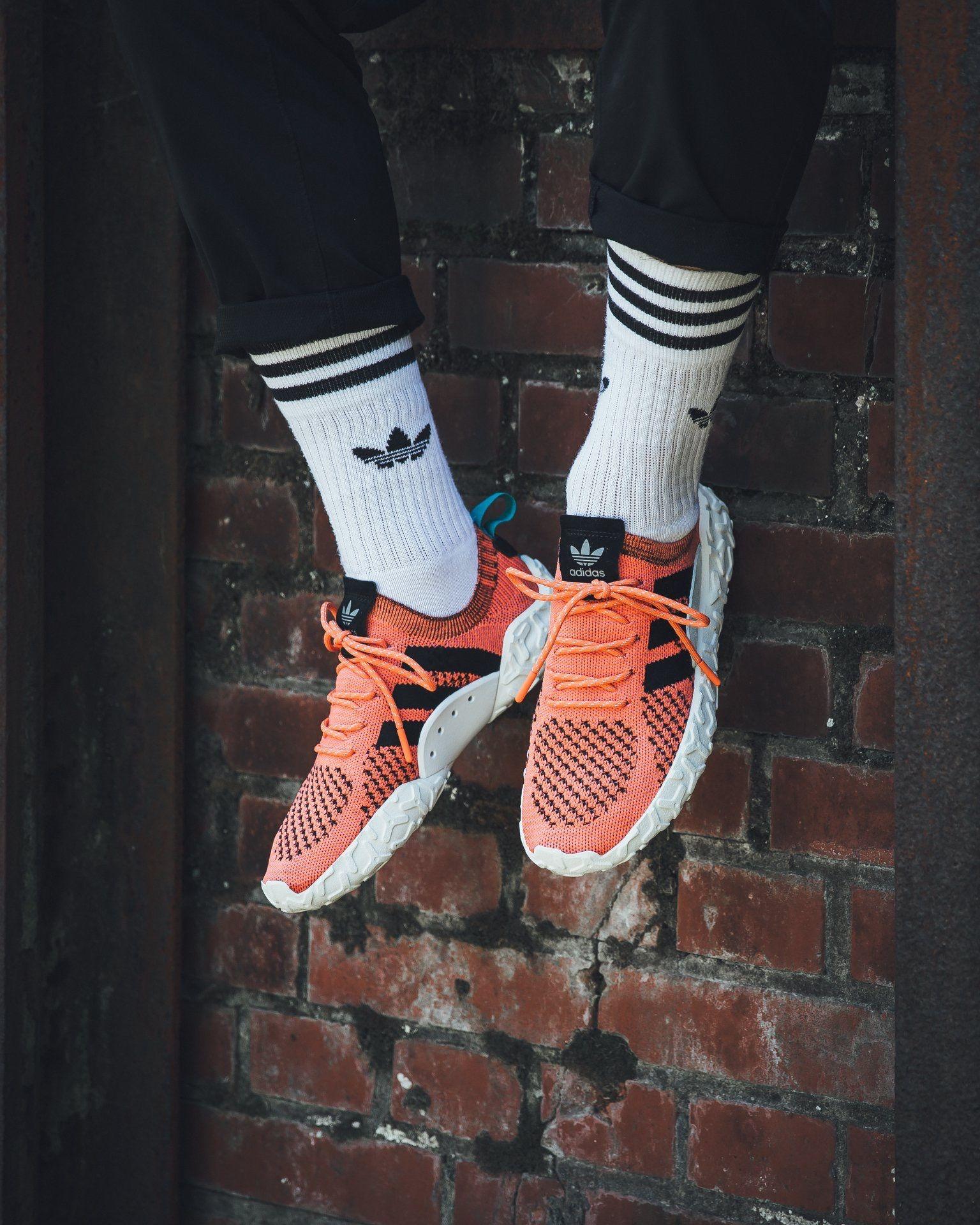 Humanista Contratista antepasado  Athletic Shoes Adidas Originals Men's F/22 Primeknit Shoes Sneakers Orange  CQ3027 Clothing, Shoes & Accessories bailek.com
