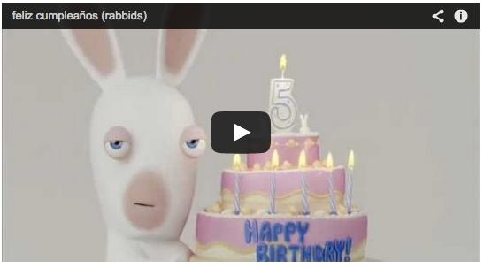 Aprovechando que hoy es el cumple de nuestro peque y el de Miriam dentro de 2 días, os dejamos los 5 vídeos más divertidos para desearte feliz cumpleaños. NO TE LO PIERDAS : http://blog.davidymiriam.com/blog/los-5-mejores-videos-para-desearte-un-feliz-cumplea%C3%B1os