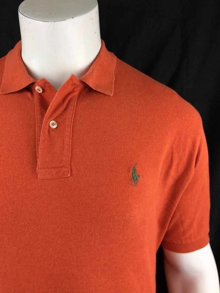 XL, Strong orange Tommy Hilfiger Classic Fit Men Polo T-shirt