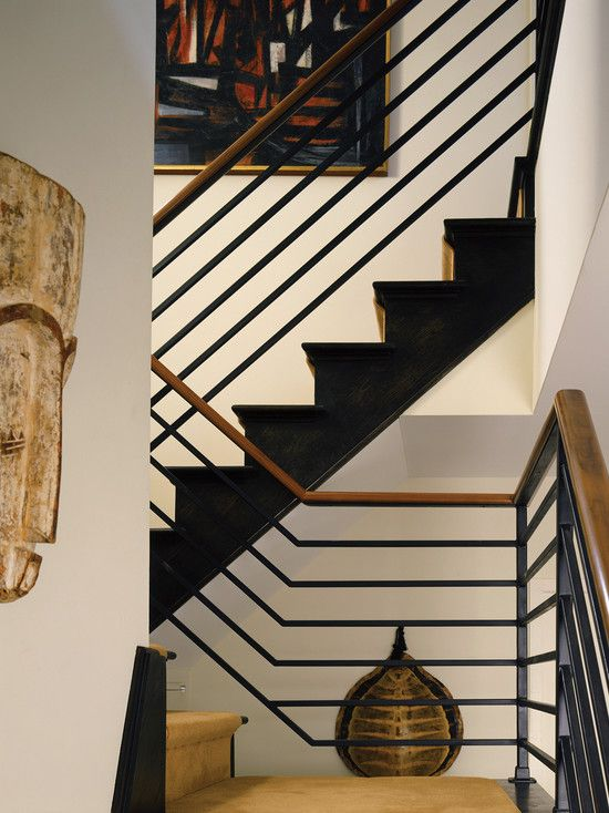 Best Contemporary Staircase Railing Design Pictures Remodel 400 x 300
