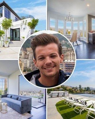 Louis Tomlinson's $7.3 Million Mansion Is Gorgeous AF