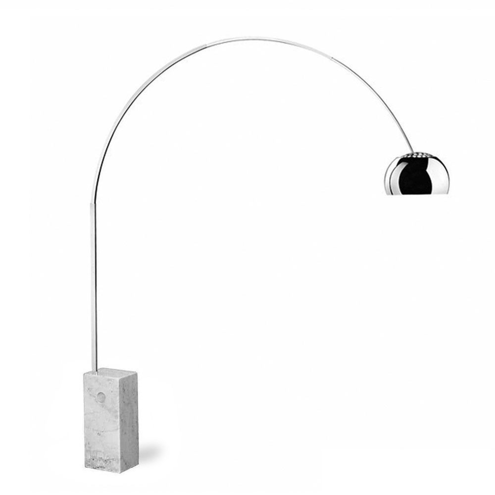 Arco lamp replica arco floor lamp floor lamp and george nelson arco lamp replica mozeypictures Choice Image