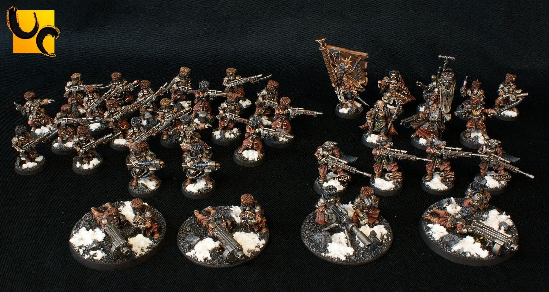 Vostroyan Scions: Warhammer 40k & AoS Miniatures