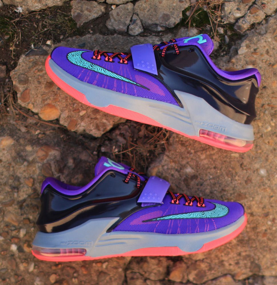 "quality design 3f974 a67e7 Nike KD 7 ""Cave Purple"" (Detailed Pics   Release Info)"