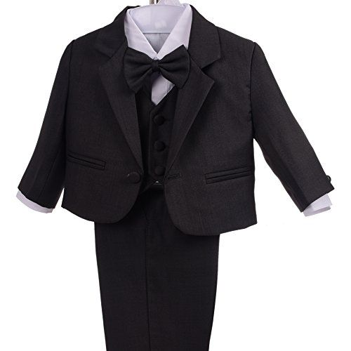 a19a70b33a1 Dressy Daisy Baby Boys Formal Dress Suits Wedding Suits Outfit Classic Fit  5 Pcs Set