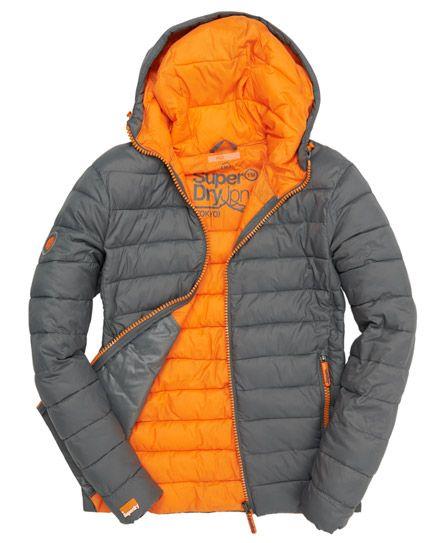 Superdry Fuji Fixed Hood Jacket. Shop Superdry Mens Fuji Fixed Hood Jacket  in Thunder. Buy ...