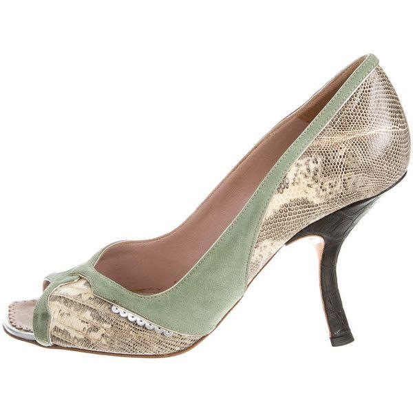 Pre-owned - Crocodile heels Prada gLWYyK5