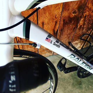 Veloink Makes Custom Top Tube And Wheel Decals With Your Name