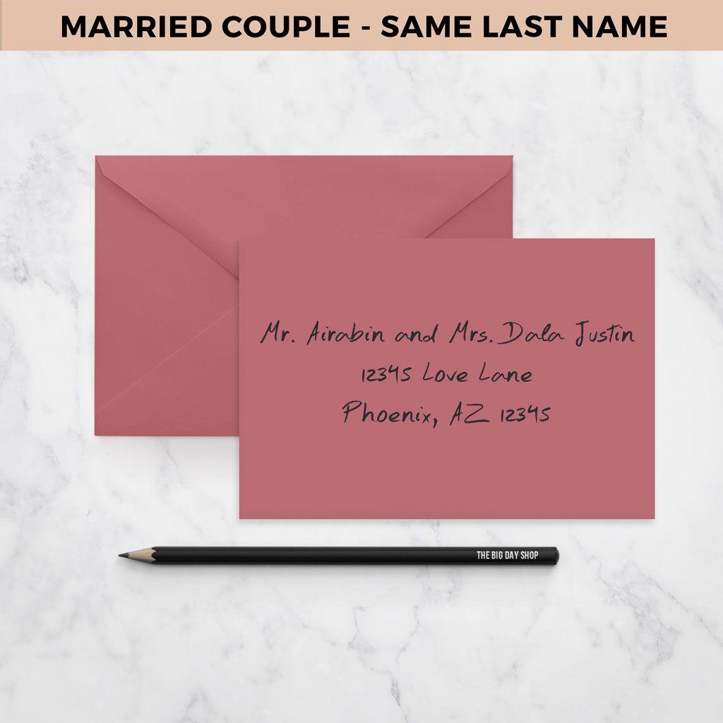Exelent Addressing Wedding Invitations With Guest Festooning ...