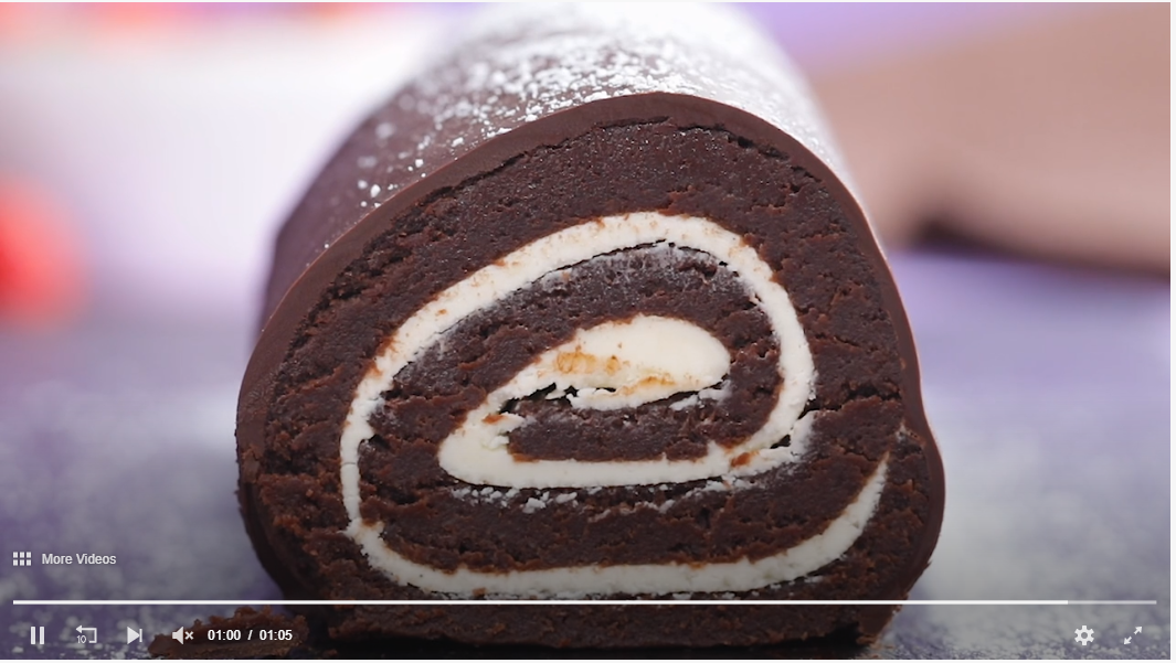 Easy Roll Cake Hack