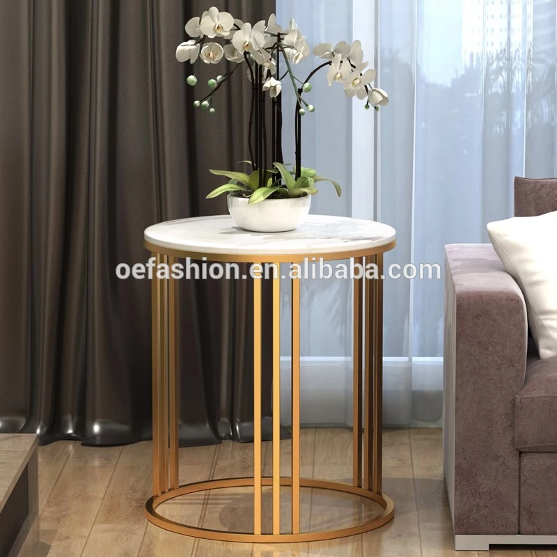 Oe Fashion Round Iron Marble Gold Corner Table View Corner Table Oe Fashion Product Details From Foshan Oe Fashion Furniture Co Ltd On Alibaba Com Modern Side Table Living Table Corner Table