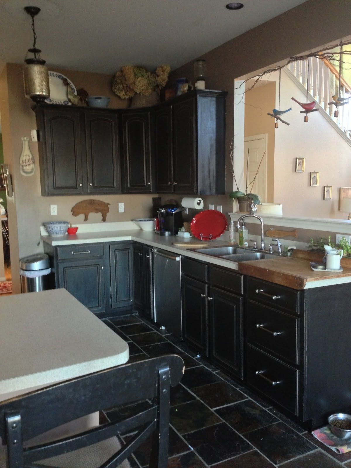 The Fabulous Food Fairy\'s DIY kitchen cabinet transformation on a ...
