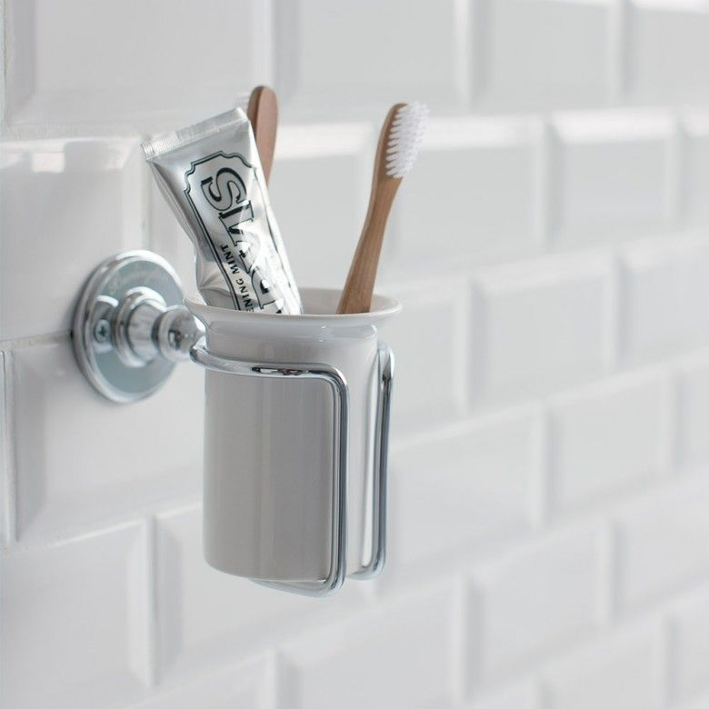 Wall Mounted Tumbler And Holder