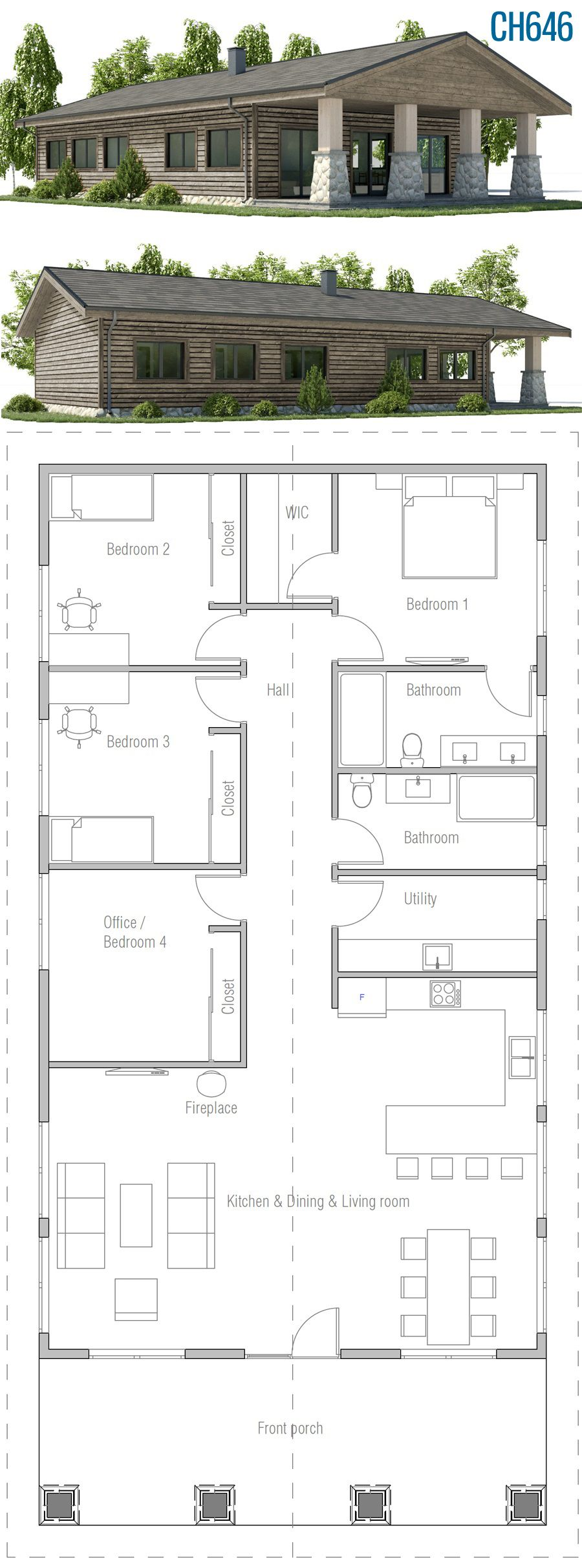 Photo of Home Plan CH646