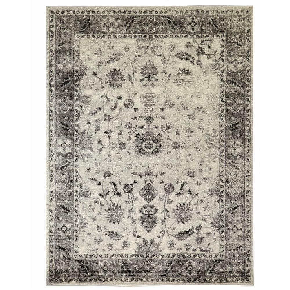 Home Decorators Collection Old Treasures Gray 9 Ft X 13 Ft Area