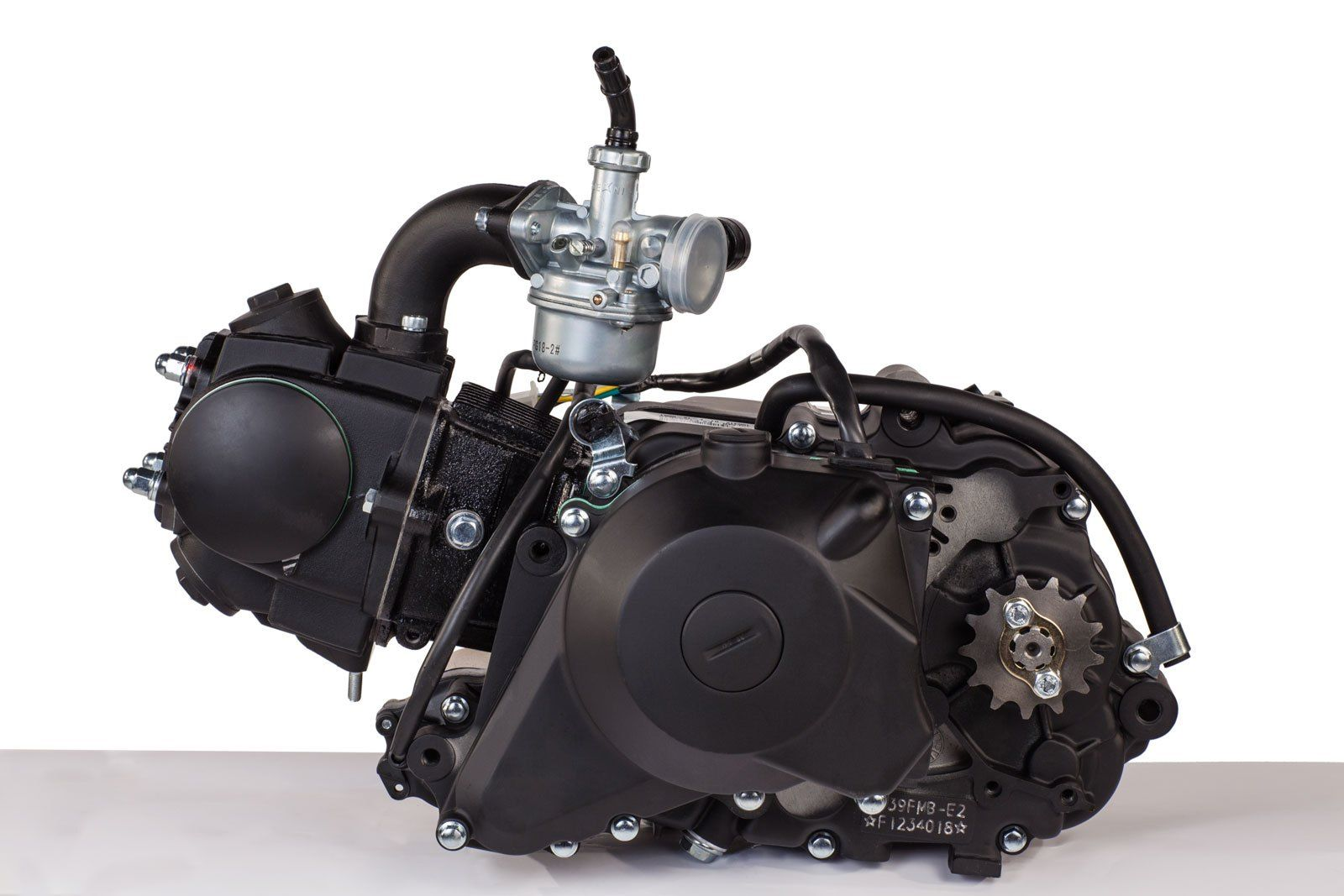 49cc Engine 2 Stage Automatic / Electric Start | Pinterest | Engine ...