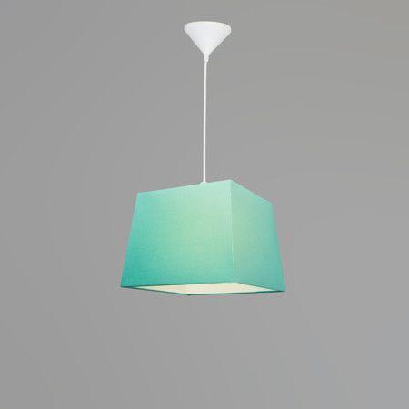 Mix 'n Match Pendelleuchte Schirm 30cm quadratisch #Lampe #Innenbeleuchtung #Pendelleuchte #Esstischlampe