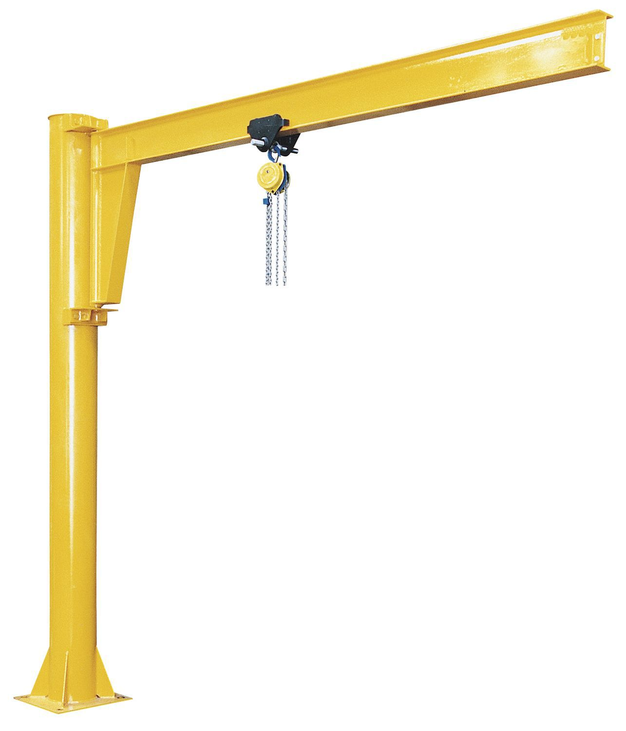 Garage Gator Installation Manual Jib Cranes Support And Carry Moveable Manual Or Electric Hoists