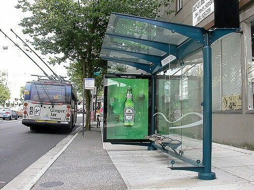 Bus Shelter Vancouver Bus Stop Shelter Bus Shelters