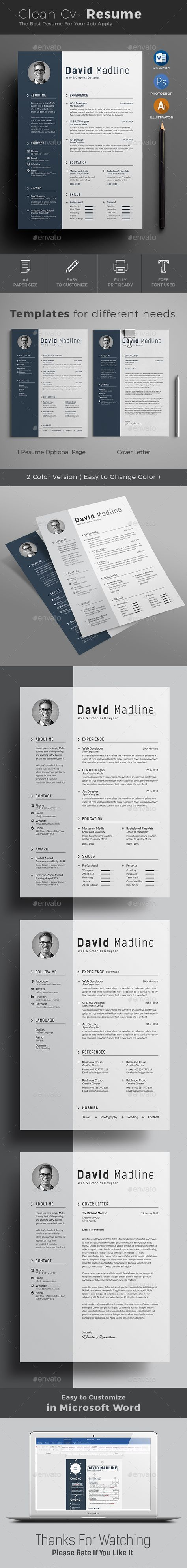 Resume | Cv resume template, Template and Graphic resume