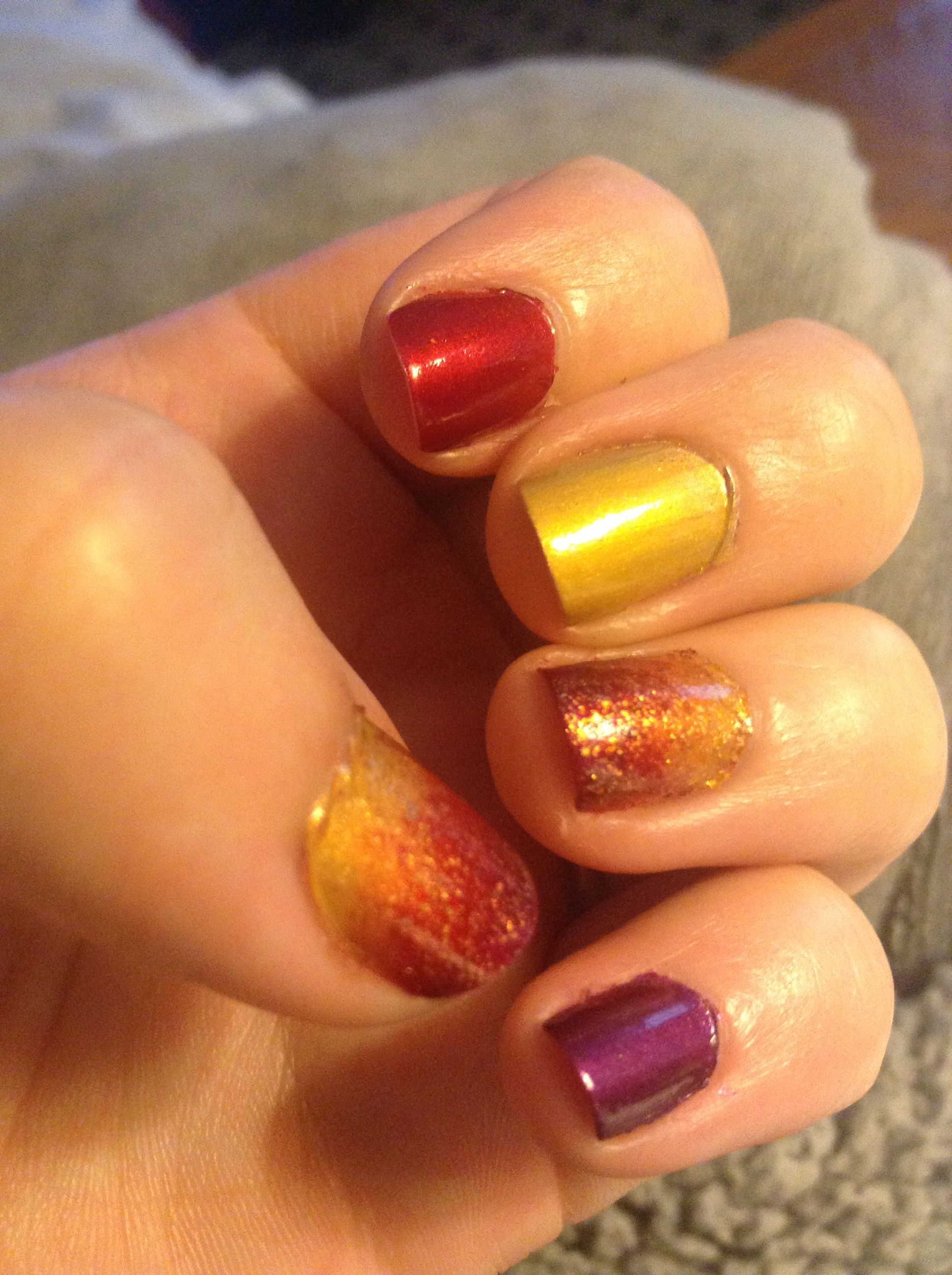 Fall Nails- Easy and Classic! | Nail Art | Pinterest