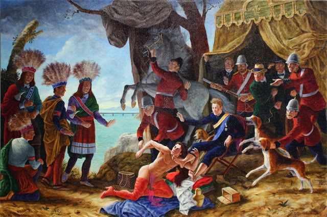 Kent Monkman (With images) | Art, Native american art ...