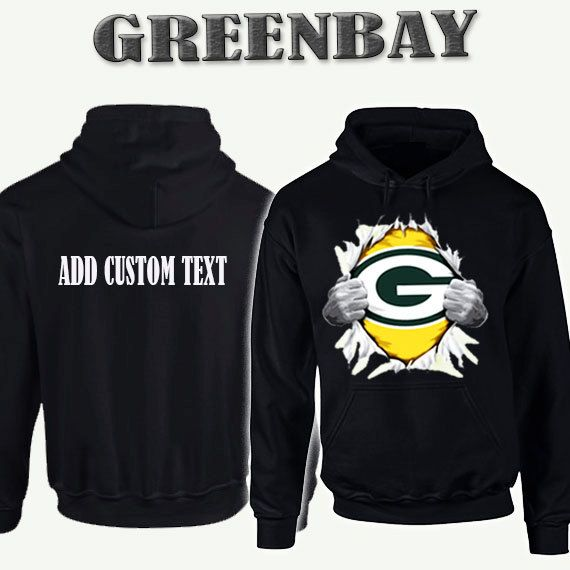 Greenbay Packers Tearing Chest Like Superman Hoodie Add Personalized Text  On Back Skull Hoodies Clothing Sweats Mens Womens by dreamshoptime on Etsy 82527e6b6