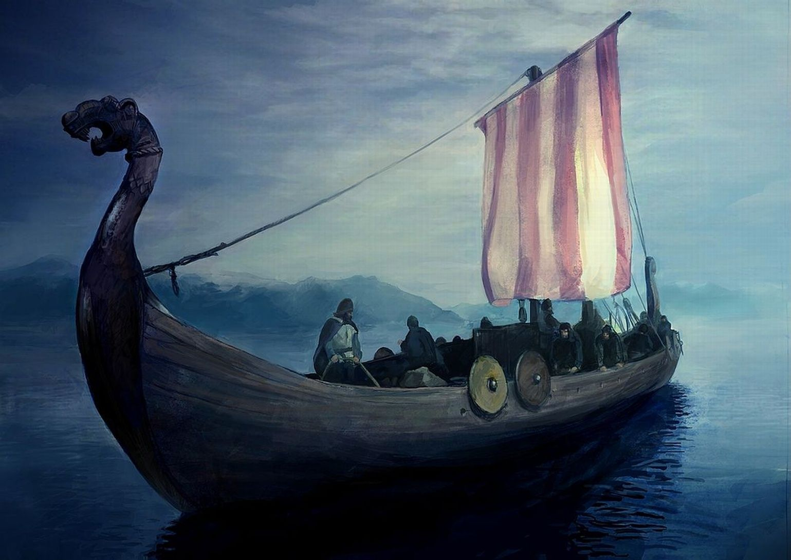 77ba34b1 The Vikings, or Norse, traveled to what is today known as North ...