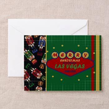 Las vegas christmas greeting cards pk of 10 las vegas greeting las vegas christmas greeting cards pk of 10 m4hsunfo