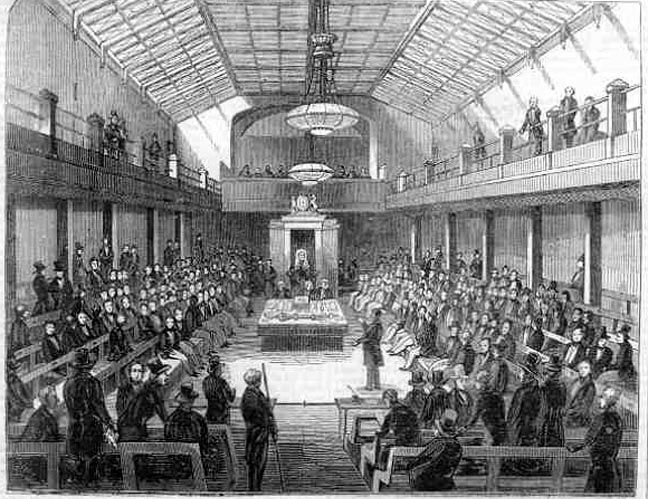 Interior Of The House Of Parliament