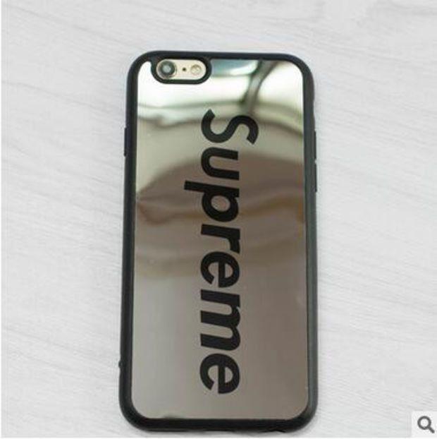 Supreme Mirror Phone Case For iPhone 7 7Plus 6 6s Plus 5 5s SE -0320 0d9d5daec29