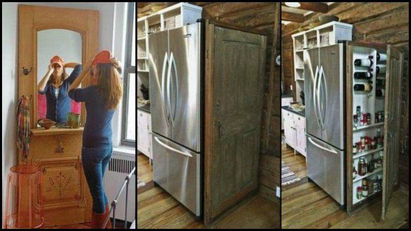 View Our Album Of Creative Ideas On How To Repurpose Old Doors! & Repurposed Door u0026 10 Ways To Repurpose Your Old Door pezcame.com