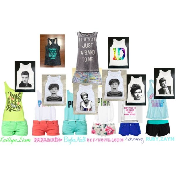 """""""one direction<3"""" by dayanerah-garcia-1 on Polyvore"""