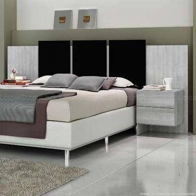 respaldo sommier cama mesas de luz colchon 2 plazas arquitectura y deco pinterest